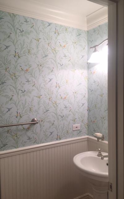 Hanging Wallpaper & the EternalOptimist